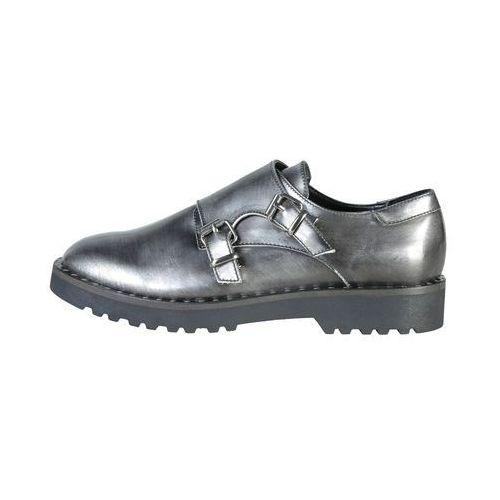 Płaskie buty damskie ANA LUBLIN - EDIT-63, EDIT_ARGENTO-41