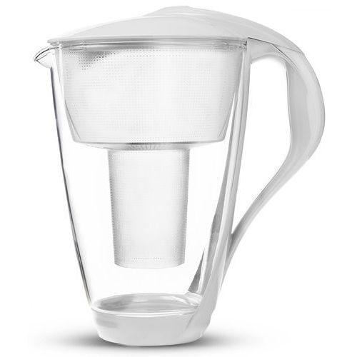 Filtr dzbankowy Dafi szklany Crystal led biały 2L, D.FO.DAFI.SZKLANY.LED.BIA