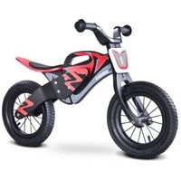 Rowerek biegowy TOYZ Enduro Czarno-Czerwony + DARMOWA DOSTAWA! - produkt dostępny w ELECTRO.pl
