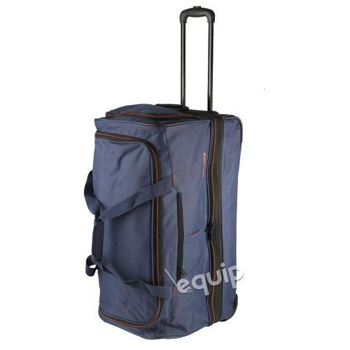 Torba podróżna basics doubledecker l - niebieski marki Travelite