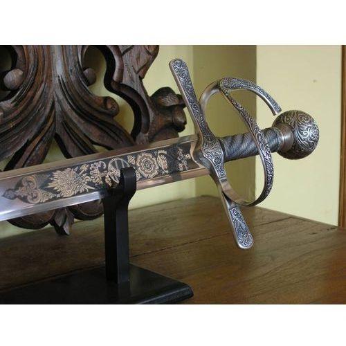 Bogato zdobiony miecz francis'a drake'a z xvi w. (5100) marki Płatnerze hiszpańscy