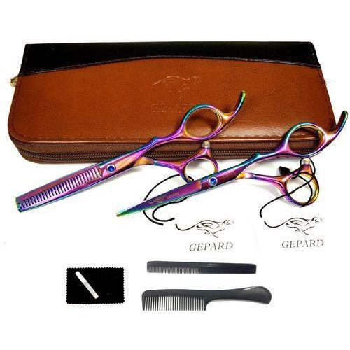 Gepard Degażówki 5,5 + nożyczki fryzjerskie 5,5  gep-s-s14