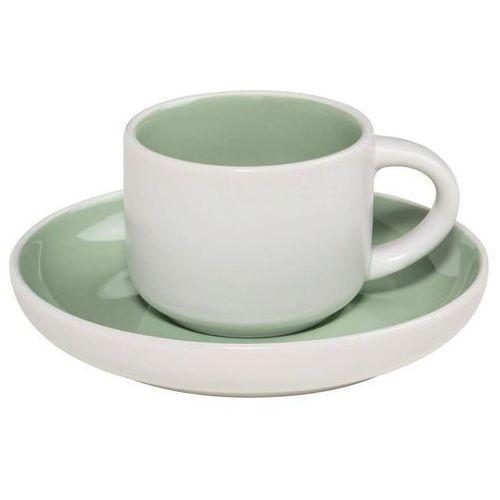 Maxwell & Williams - Tint - Filiżanka do espresso, biało-zielona - zielony
