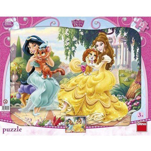 Dino toys Puzzle 12 ramkowe księżniczki i zwierzątka dino (8590878303089)