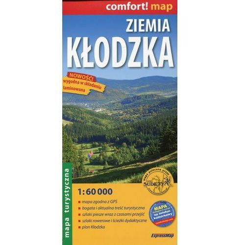 ZIEMIA KŁODZKA. MAPA TURYSTYCZNA LAMINOWANA (ISBN 9788388112942)