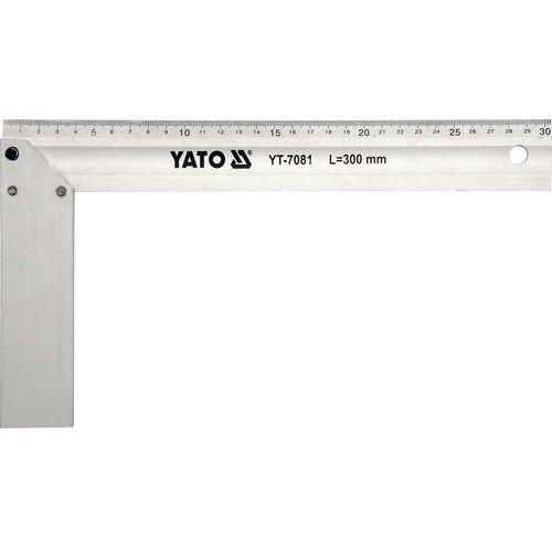 Kątownik aluminiowy 250 mm. yt-7080 - zyskaj rabat 30 zł marki Yato