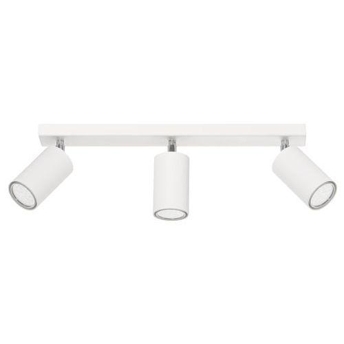 Plafon Rolos 3 biały Producent Lampex, LAMP 558/3 BIA