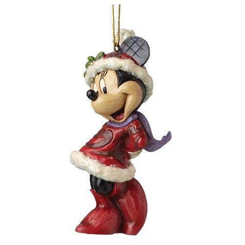 Zawieszka Myszka Mini Mikołajka Sugar Coated Minnie Mouse Hanging Ornament A28240 Jim Shore figurka ozdoba świąteczna