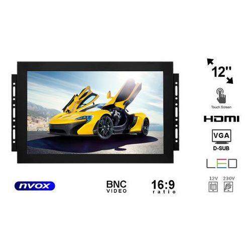 "NVOX OP1211T Monitor dotykowy open frame LED 12"" z wejściem VGA HDMI BNC (5909182421984)"