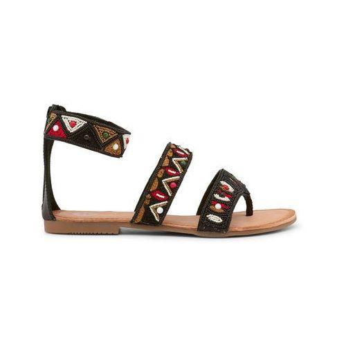 Sandały rzymianki gladiatorki GIOSEPPO - FLORINTA-03, kolor czarny