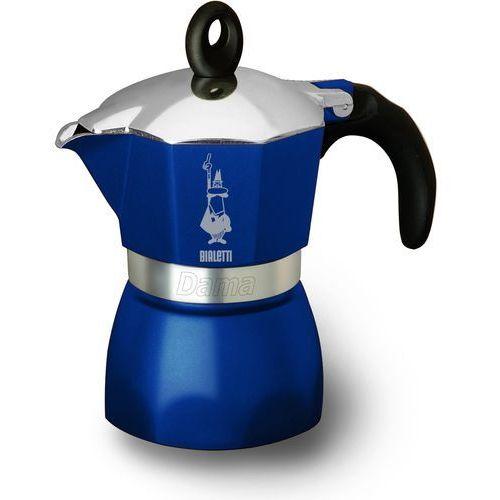 Kawiarka  dama 3 tz niebieski + darmowy transport! marki Bialetti