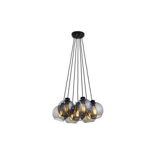 TK Lighting Cubus Graphite 2837 Lampa wisząca zwis 7x60W E27 grafit/czarny