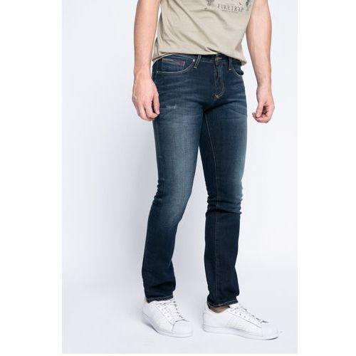 - jeansy marki Hilfiger denim