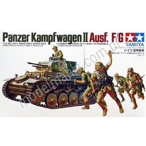 german pzkpfw ii marki Tamiya