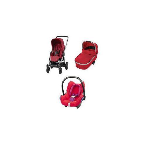 W�zek wielofunkcyjny 3w1 stella + cabrio fix + gratis (robin red) marki Maxi-cosi