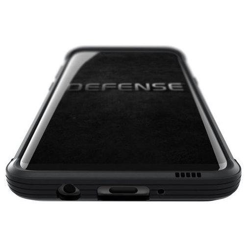 X-Doria Defense Lux - Etui aluminiowe Samsung Galaxy S8 (Black Leather) (6950941456593)