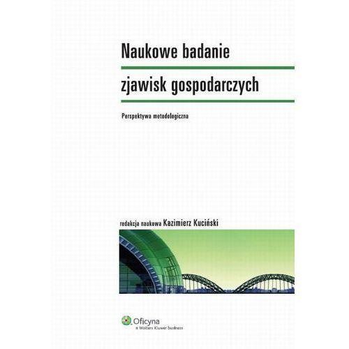 Naukowe badanie zjawisk gospodarczych. Perspektywa metodologiczna [PRZEDSPRZEDAŻ], Wolters Kluwer