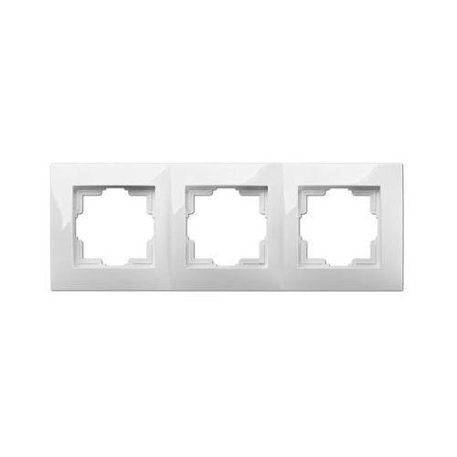 Ramka potrójna CARLA ELEKTRO - PLAST (5901752636859)