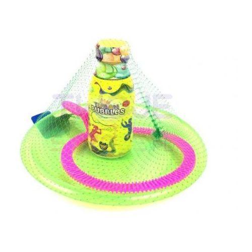Zestaw Tuban do baniek mydlanych podstawka,obręcz+250ml płynu, #A641