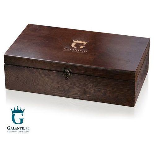Galante Skrzynka drewniana kuferek lakierowany 37x21x11 cm. Najniższe ceny, najlepsze promocje w sklepach, opinie.