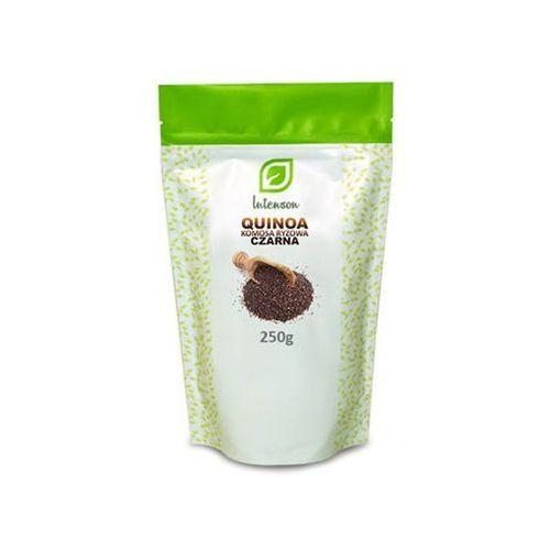 Intenson europe sp. z o.o Quinoa komosa ryżowa czarna 250g intenson (5902150281702)