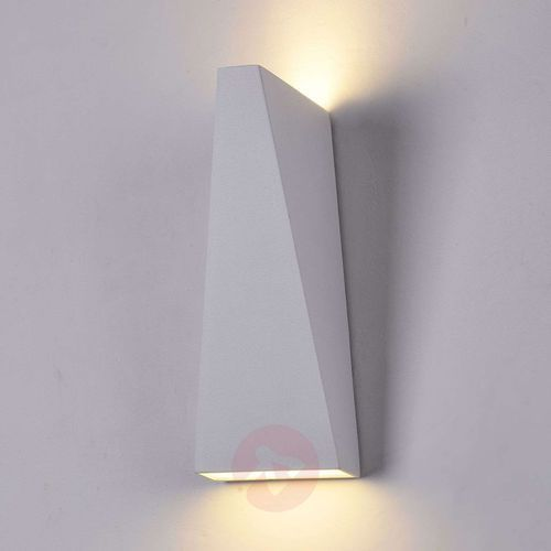 Kinkiet LED na zewnątrz budynku, biały, nowoczesny Times Square Maytoni Outdoor (O580WL-L6W) (4251110086552)