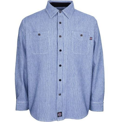 Koszula - block shirt blue stripe (blue stripe) rozmiar: m marki Independent
