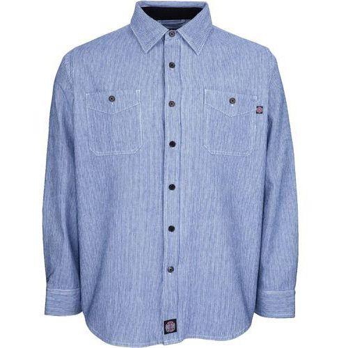 koszula INDEPENDENT - Block Shirt Blue Stripe (BLUE STRIPE) rozmiar: L, 1 rozmiar