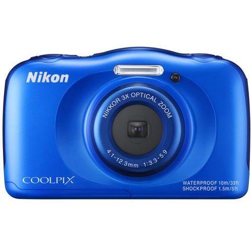 """Nikon Coolpix S33 [przekątna ekranu 2.7"""", rozdzielczość 13Mpx]"""