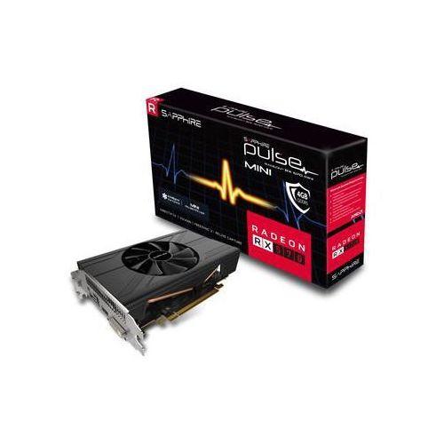 Karta graficzna Sapphire Pulse Radeon RX 570 Mini, 4GB GDDR5 (256 Bit), DVI-D, HDMI, DP, BOX (11266-06-20G) Darmowy odbiór w 21 miastach!