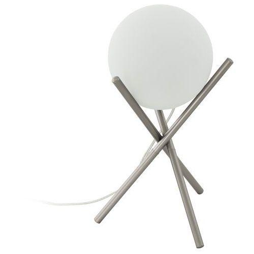 Eglo Lampka castellato 97334 stołowa nocna 1x28w e14 biała/szampańska