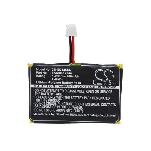 Cameron sino Sportdog sr-300 receiver / sac00-12544 200mah 1.48wh li-polymer 7.4v ()