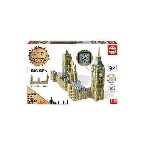 Puzzle 3d big ben and parlament marki Educa
