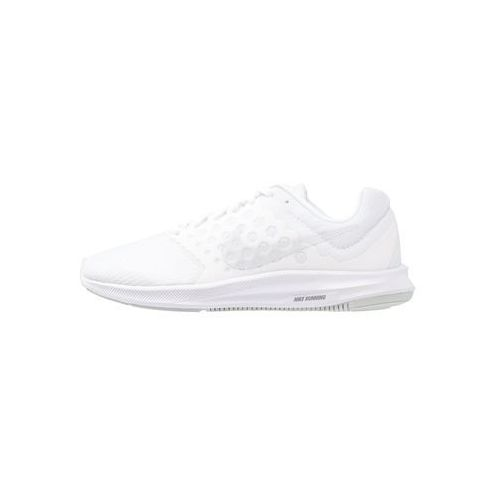 Nike Performance DOWNSHIFTER 7 Obuwie do biegania treningowe white/pure platinum (0883153473996)