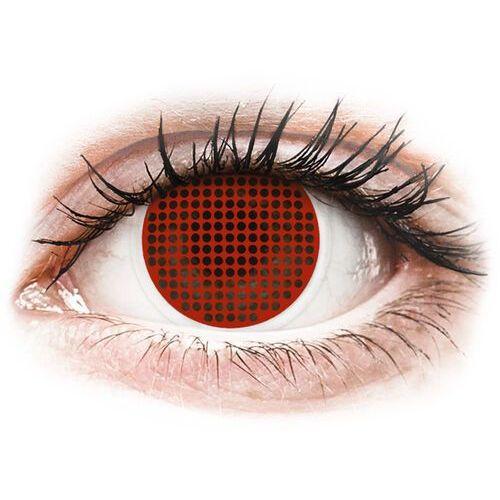 Soczewki kolorowe czerwone RED SCREEN Crazy Lens 2 szt., 241