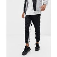 Good For Nothing joggers with contrast panels in black - Black, w 4 rozmiarach