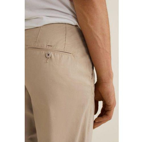 - spodnie barna3, Mango man