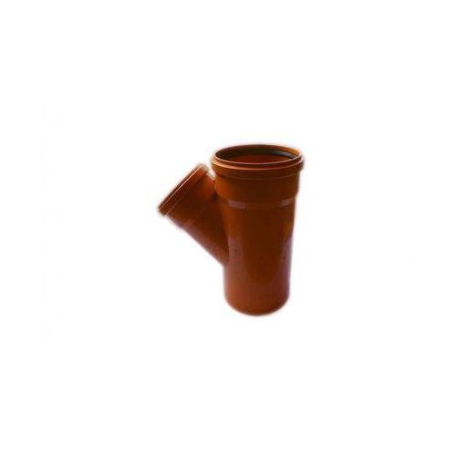 Poliplast Trójnik kanalizacji zewnętrznej 200 x 160 mm/45°
