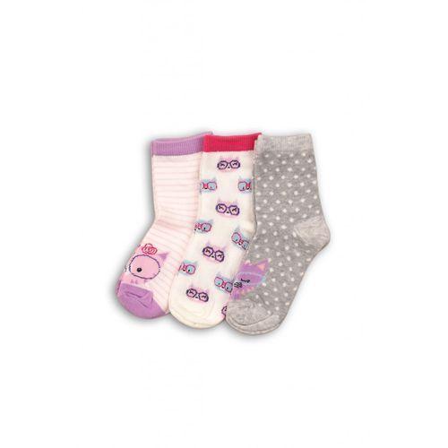 Zestaw skarpet niemowlęcych 3pak 5v35ar marki Minoti