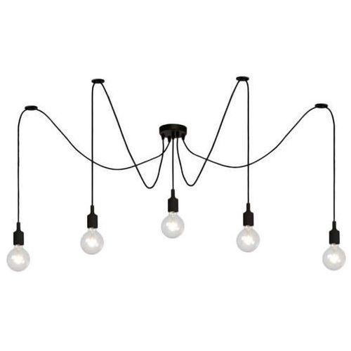 Lampa wisząca fix multiple 08408/05/30 industrialna oprawa dekoracyjna zwis pająk spider kable przewód czarny marki Lucide