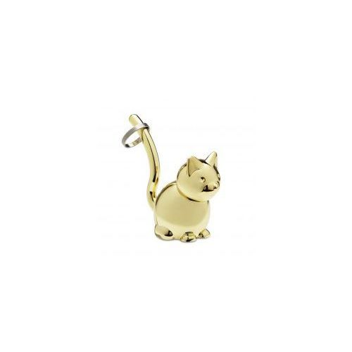 Umbra Wieszak na biżuterię zoola kot brass