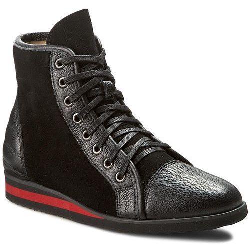 Sneakersy NEŚCIOR - 097-H Czarny R/Czarny Zam