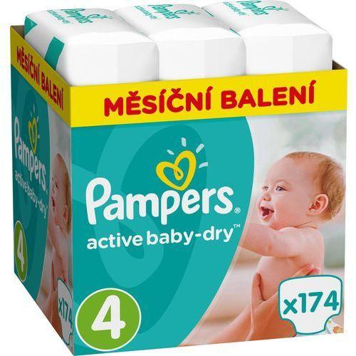 pieluchy active baby 4 maxi (8-14 kg) miesięczny zapas- 174 szt. marki Pampers. Najniższe ceny, najlepsze promocje w sklepach, opinie.