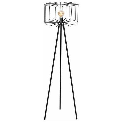 Luminex Wire 1177 lampa stojąca podłogowa 1x60W E27 czarna (5907565911770)