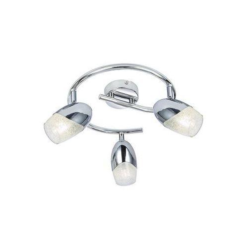 Plafon spirala Rabalux Jennifer 5922 lampa sufitowa 3x40W E14 chrom, 5922