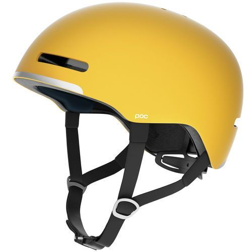 Poc corpora kask rowerowy żółty 55-58cm 2018 kaski rowerowe