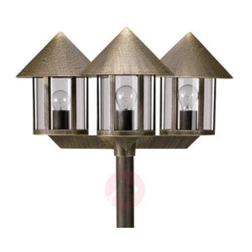 Maszt oświetleniowy lampione 3-punktowy brązowy marki Albert leuchten