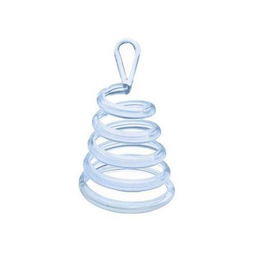 Belball Obciążnik do balonów napełnionych helem - sprężyna przezroczysta - 30 g.