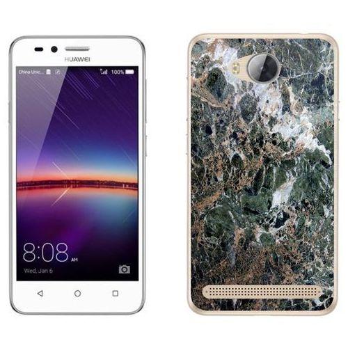 Huawei y3 ii - etui na telefon - kolekcja marmur - marble zieleń - h22 - marble zieleń marki Zolti