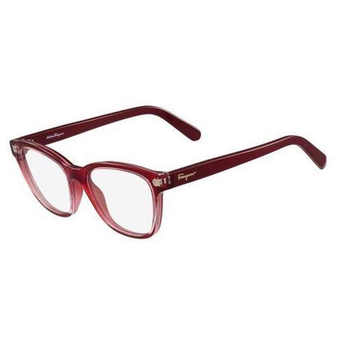 Salvatore ferragamo Okulary korekcyjne sf 2766 613